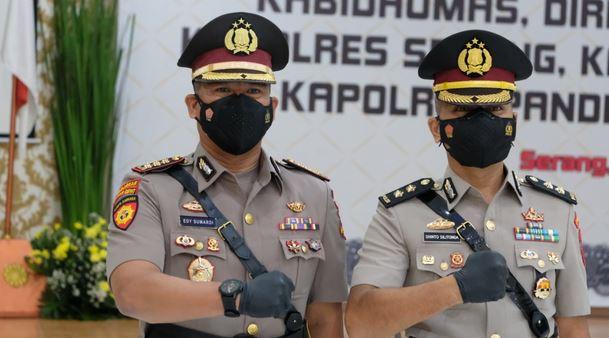 AKBP Shinto Silitonga Resmi Menjabat Kabid Humas Polda Banten