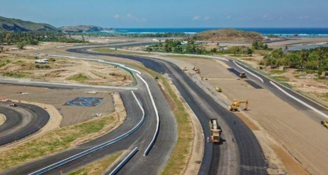 Progres Mandalika International Street Circuit di Kawasan Ekonomi Khusus (KEK) Mandalika