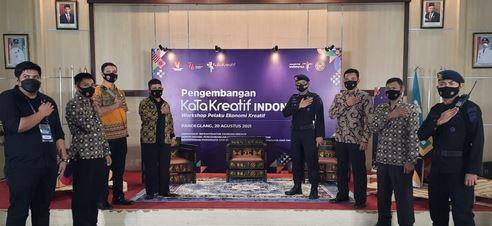Menparekraf RI Kunjungi Pandeglang dan Lebak, Ditpamobvit Polda Banten Gelar PAM VIP