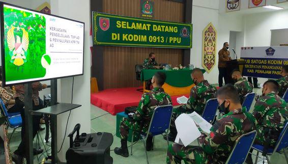 Program IKN, Bank BTN Menyediakan Perumahan Bagi Prajurit TNI-AD Sebanyak 10.000 Unit