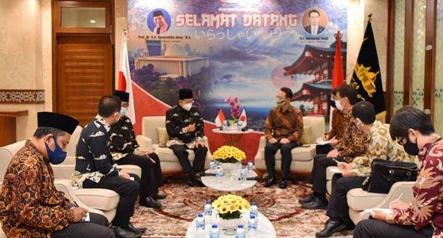 Duta Besar Jepang Kunjungi Masjid Istiqlal