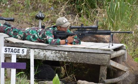 """Ketum PB Perbakin Tutup Kejuaraan Menembak """"1st Indonesia Internasional Tactical Long Range Shooting GP Seri 3 2021″di Kawasan Danau Toba"""
