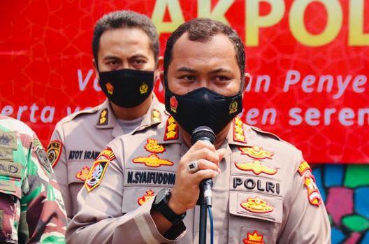 Polda Banten Kembali Gelar Vaksinasi Go To School