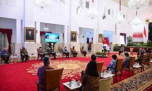 Presiden Jokowi Minta Penambahan Penyaluran Kredit UMKM oleh Perbankan Capai 30%