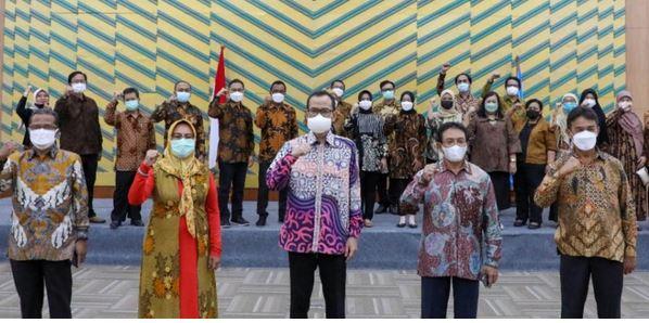 Ditjen Diktiristek, Kukuhkan 22 Agen Perubahan Untuk Tingkatkan Kualitas Reformasi Birokrasi