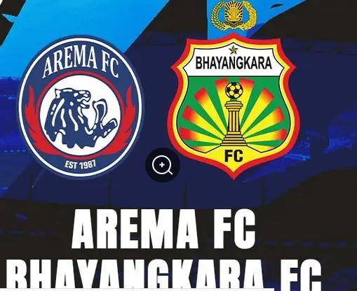 Arema Malang Dapat Lawan Tangguh Bhayangkara FC Pekan Kedua BRI Liga 1