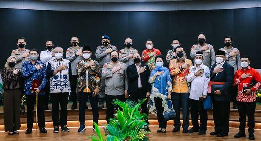 Komite I DPD RI Lakukan Kunjungan dan Rapat Kerja Di Mabes Polri