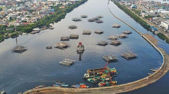 Kementerian PUPR Bangun Tanggul Pantai  di Jakarta, Antisipasi Dampak Perubahan Iklim