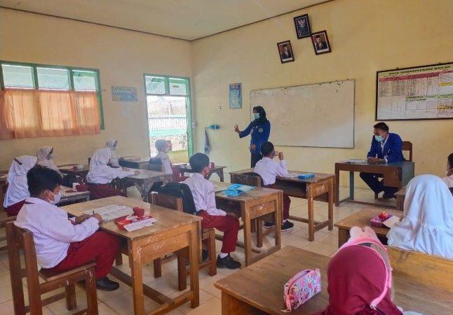 Kegiatan Pekan 5 Pembelajaran Tatap Muka (PTM)  SD Negeri 2 Candi, Pacitan