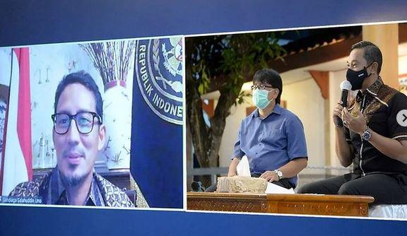 Mas Menteri Sandiaga Uno, Siap Kolaborasi Kembangkan Pariwisata Pacitan