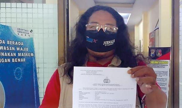 Polres Situbondo, Ambil Keterangan Saksi  Kasus Penghinaan Profesi Wartawan
