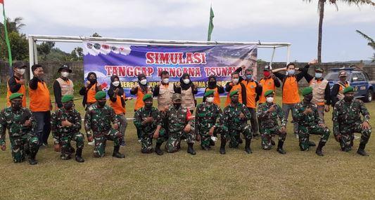 Simulasi Tanggap Bencana Tsunami Desa  Sirnoboyo, Pacitan 2021