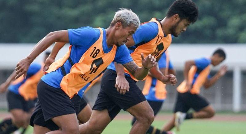 Timnas Indonesia Jalani Latihan Terakhir Jelang Play Off Piala Asia Hadapi Taiwan