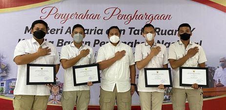 Menteri Agraria Beri Penghargaan Kinerja Satgas Mafia Tanah Polda Banten