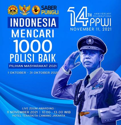 Indonesia Mencari 1000 Polisi Baik yang Tidak Pernah Pungli